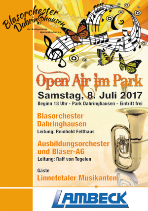 Plakat Open Air 2017